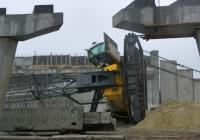 Падение 100тн. гусеничного крана в Днепроветровске